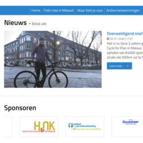 Rosanne Koekkoek fietst 500 km voor Plan International
